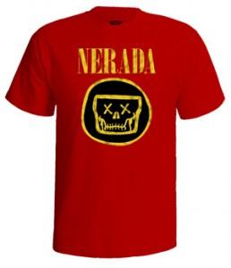 تی شرت nirvana طرح nerada