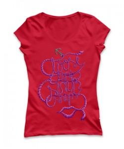 تی شرت دخترانه جدید طرح smile