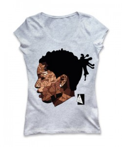 تی شرت زنانه طرح a ap rocky