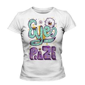 تی شرت دخترانه جدید طرح eyes