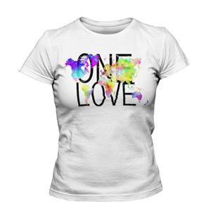 تی شرت دخترانه اسپرت one love
