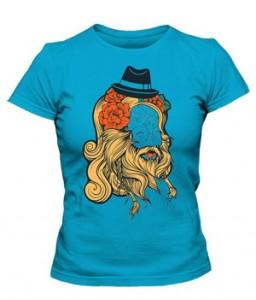 تی شرت زنانه جدید طرح vector old school