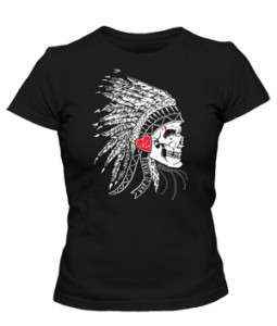 تی شرت دخترانه طرح Skeleton