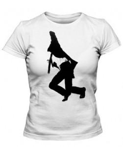 تی شرت دخترانه طرح robert longo men in the cities