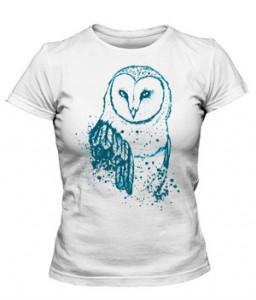 تی شرت دخترانه طرح pretty bird