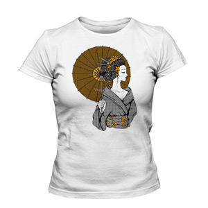 تی شرت زنانه جدید geisha