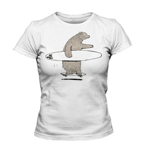 تی شرت زنانه جدید bulldog