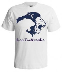 تی شرت تکواندو lion tekvando