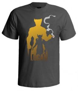 تی شرت ایکس من طرح logan