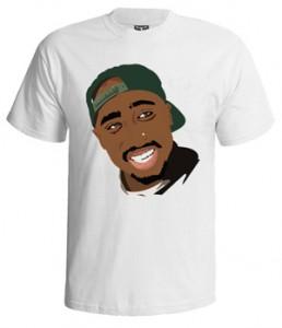 تی شرت توپاک طرح ۲pac