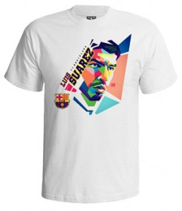 تی شرت لوییز سوارز