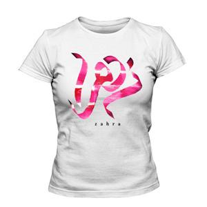 تی شرت زنانه طرح نام زهرا