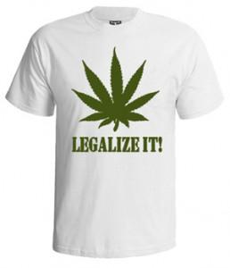 خرید تی شرت weed طرح legalize it