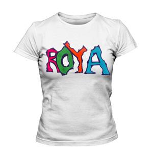 تی شرت زنانه طرح اسم رویا