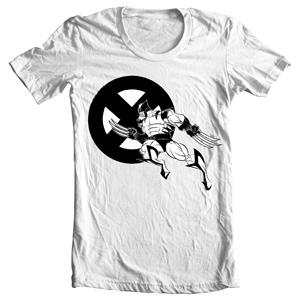 تی شرت ایکس من طرح wolverine