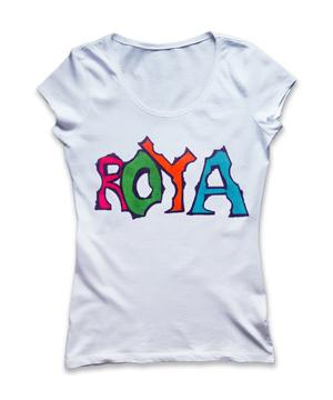 خرید تیشرت دخترانه نام رویا