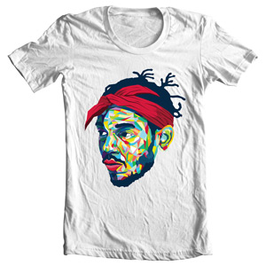تی شرت توپاک طرح poster