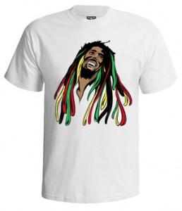 تی شرت باب مارلی