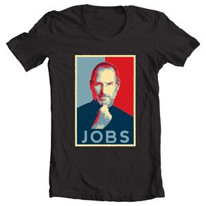 تی شرت steve jobs طرح mac