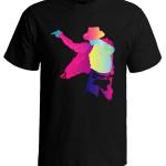 تی شرت شخصیت طرح مایکل جکسون