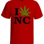 تی شرت weed طرح colorado
