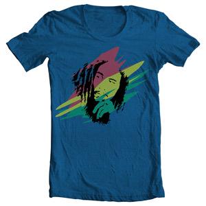 تی شرت شخصیت با طرح bob marley