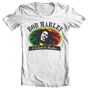 تی شرت شخصیت طرح زیبای باب مارلی