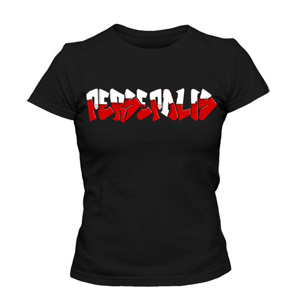 تی شرت زنانه گرافیتی پرسپولیس