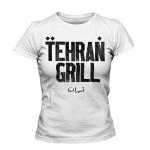 تی شرت دخترانه با طرح tehran gril