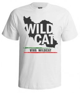 تی شرت ایرانی طرح wild cat