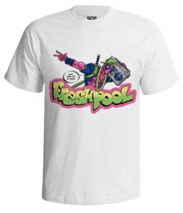 تی شرت گرافیکی طرح fresh pool