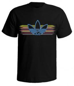 تی شرت های آدیداس logo