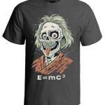 تی شرت طرح funny albert einstein
