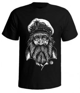 تی شرت گرافیکی طرح sailor