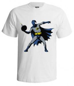 تی شرت بتمن طرح Batsy