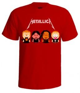 تی شرت متالیکا south park metallica