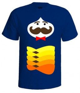 تی شرت خنده دار طرح mustache simple