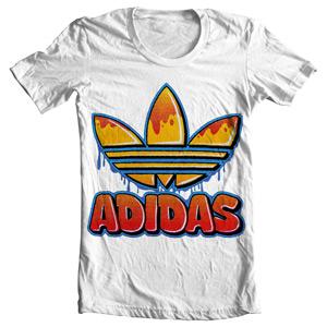 تی شرت آدیداس طرح adidas graffiti