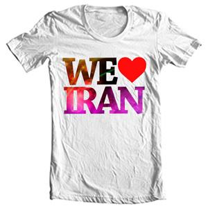 تی شرت طرح ایرانی love iran
