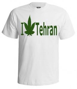 تی شرت تهران طرح i love tehran