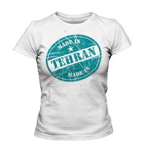 خرید تی شرت تهران طرح زیبای made in tehran