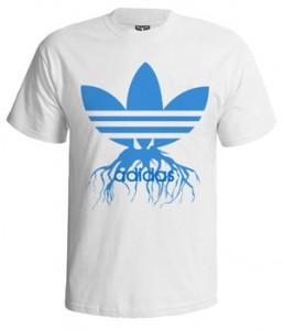 تی شرت آدیداس طرح retro