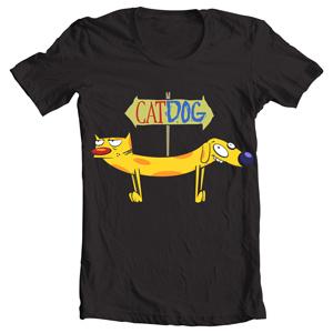 تی شرت گربه سگ