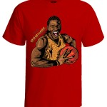 تی شرت بسکتبال طرح the manimal