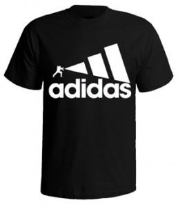 تی شرت آدیداس طرح performance