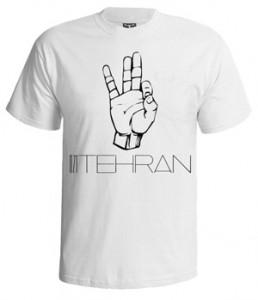 تی شرت تهران طرح ۰۲۱ tehran