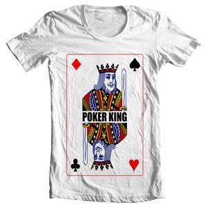 تی شرت طرح king