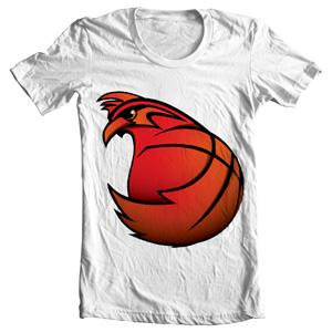 تی شرت بسکتبالی bantam basketball