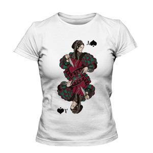 تی شرت پوکر طرح spade queen