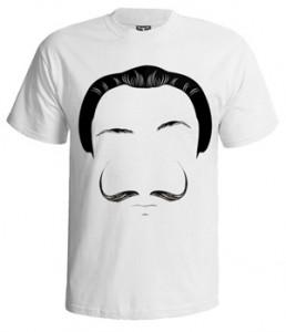 تی شرت بازیگران طرح salvador dali